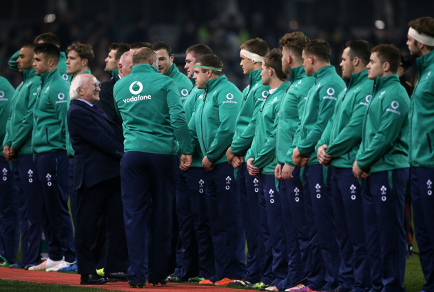 Ireland v New Zealand - Autumn International - Aviva Stadium