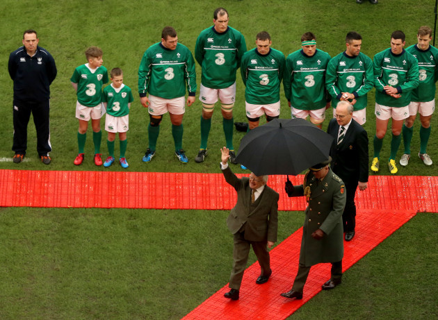 Ireland v Wales - 2016 RBS Six Nations - Aviva Stadium