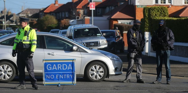 Dublin crime gang raids