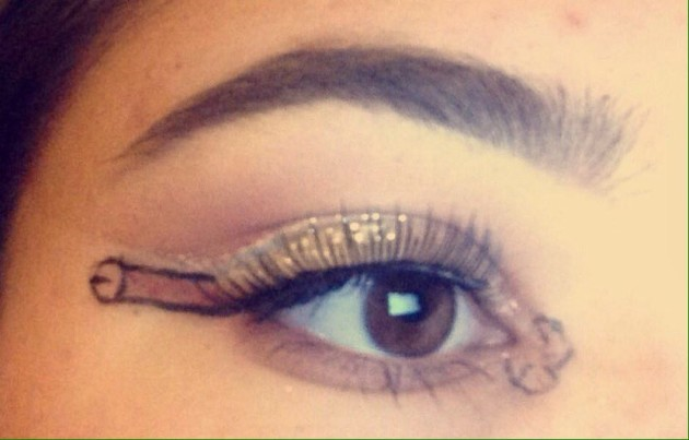 What is penis eyeliner dickliner why becoming trend