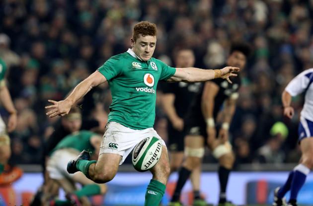 Ireland's Paddy Jackson