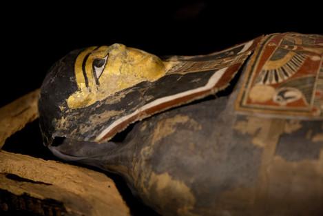 Mideast Israel Mummy