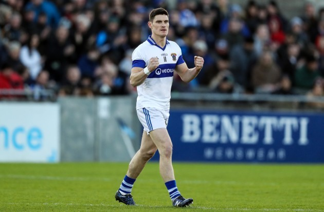 Diarmuid Connolly celebrates at  the final whistle