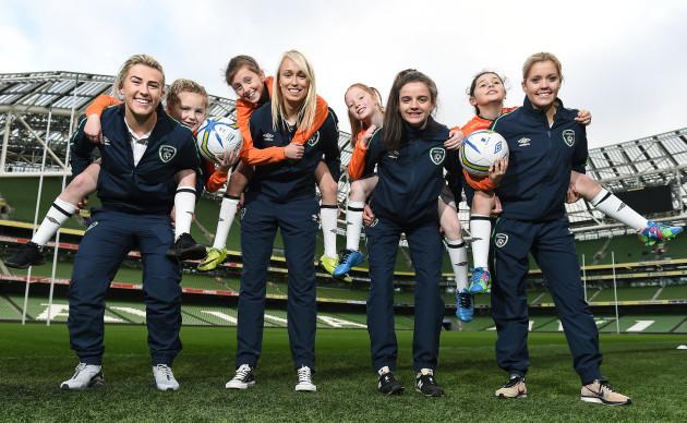 Aviva FAI Soccer Sisters Launch