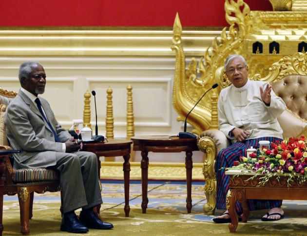 Myanmar Rohingya Kofi Annan