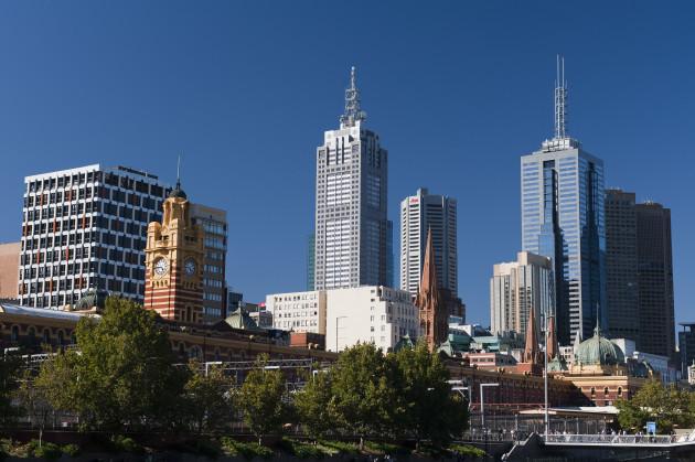 General Views of Melbourne