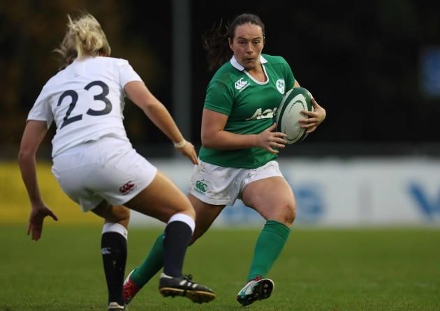 Ireland's Nicole Fowley