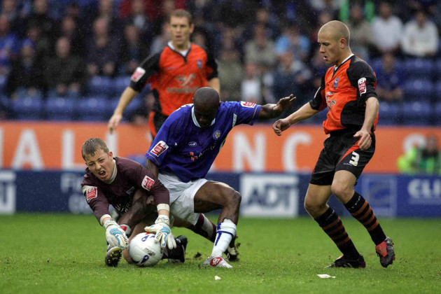 Soccer - Coca-Cola Football League Championship - Leicester City v Ipswich Town - Walkers Stadium