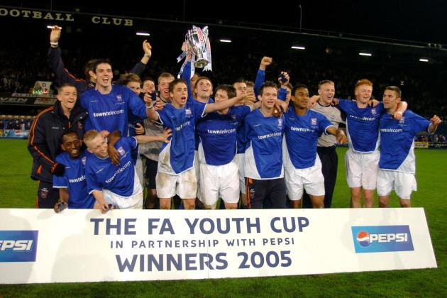 Soccer - FA Youth Cup - Final - Second Leg - Ipswich Town v Southampton - Portman Road
