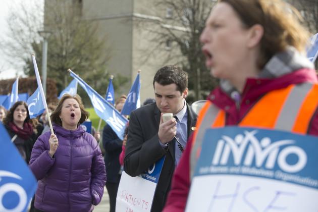 2/3/2016. Nurses Protests Health Service Crisis