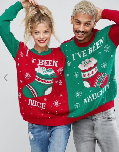 2 person christmas jumper