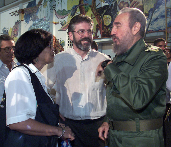 Adams meets Fidel Castro