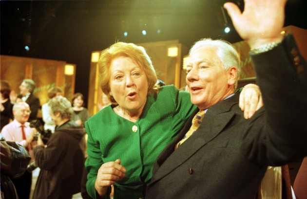 File Photo: Broadcaster Gay Byrne has announced that he is going inot hospital for cancer tests.