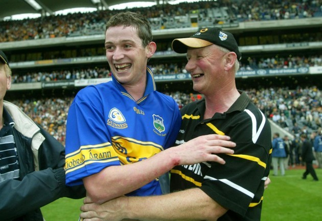 Brian Cody and Martin Comerford