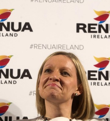 File Photo Lucinda Creighton has announced she is stepping down as leader of Renua Ireland at a meeting in Portlaoise today.