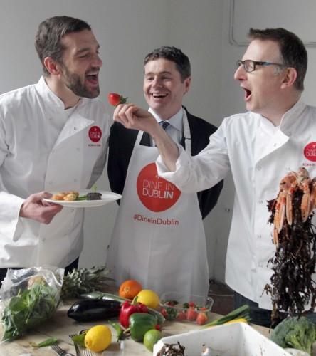 Top Dublin chefs Andrew Rud