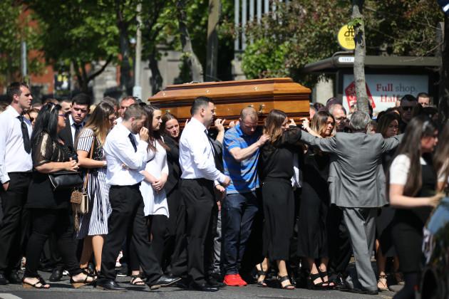 3/6/2016 Gareth Hutch Funeral Scenes