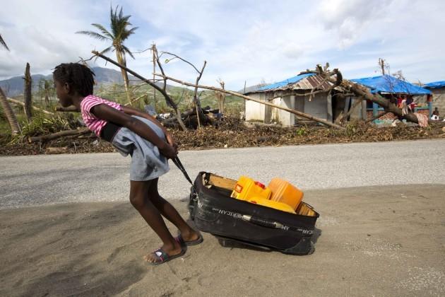 Haiti Hurricane Scarce Water
