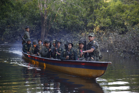 Colombia Rebels At Ease Photo Gallery