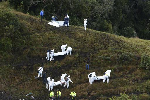 APTOPIX Colombia Air Crash