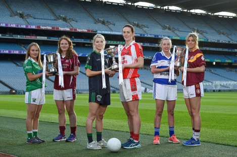 Ladies Football All Ireland Club Championship Final Captains Day