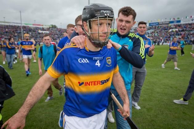 Conor O'Brien is congratulated by fans