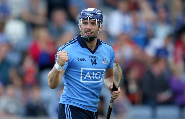 Conal Keaney celebrates his goal