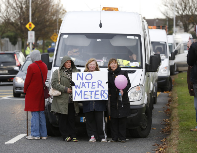 17/11/2014. Anti Water Charges Campaigns