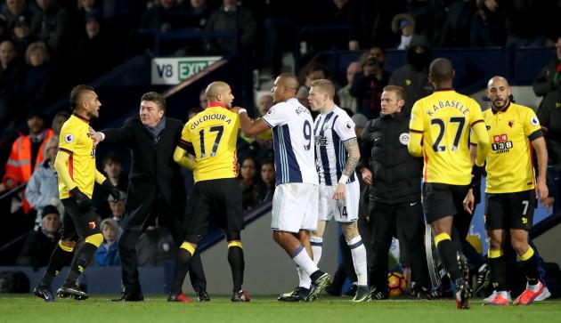 West Bromwich Albion v Watford - Premier League - The Hawthorns