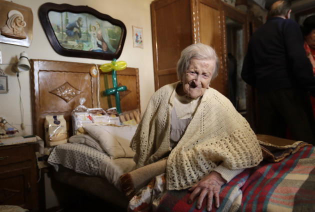 Italy Oldest Woman