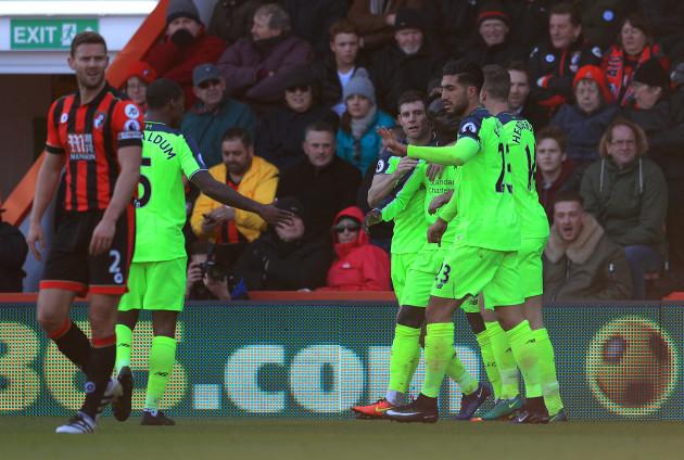 AFC Bournemouth v Liverpool - Premier League - Vitality Stadium