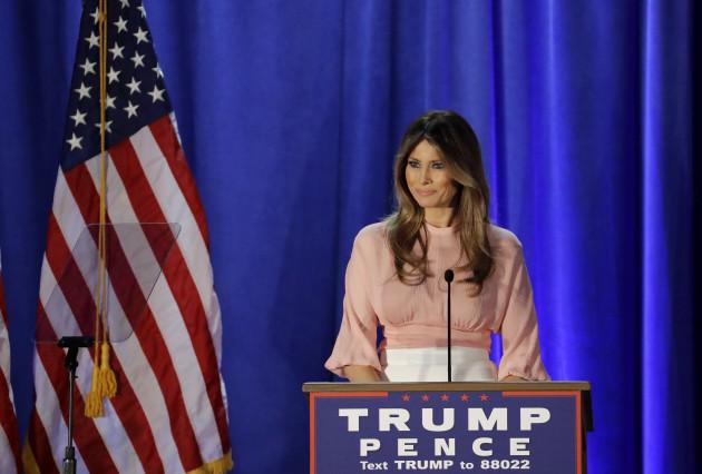 Campaign 2016 Melania Trump