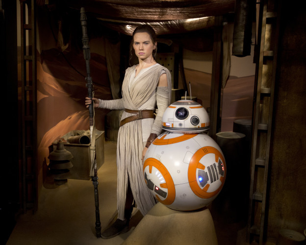 Daisy Ridley Wax Figure Unveiling at Madame Tussauds - London