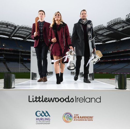 Littlewoods Ireland unveiled as a new top tier partner of the GAA and the Camogie Association