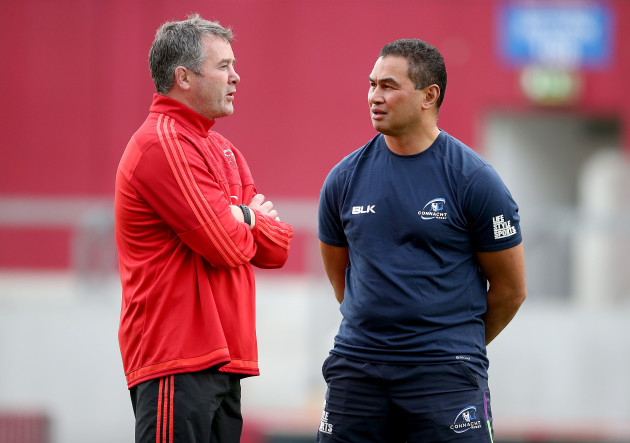 Anthony Foley with Pat Lam
