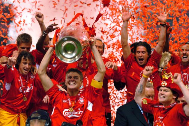 Soccer - UEFA Champions League - Final - AC Milan v Liverpool - Ataturk Olympic Stadium