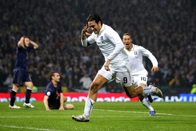 Soccer - UEFA European Championship 2008 Qualifying - Group B - Scotland v Italy - Hampden Park