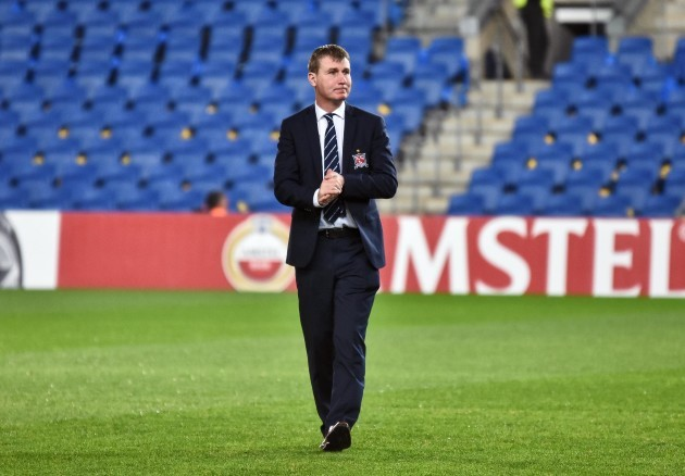 Stephen Kenny before the game