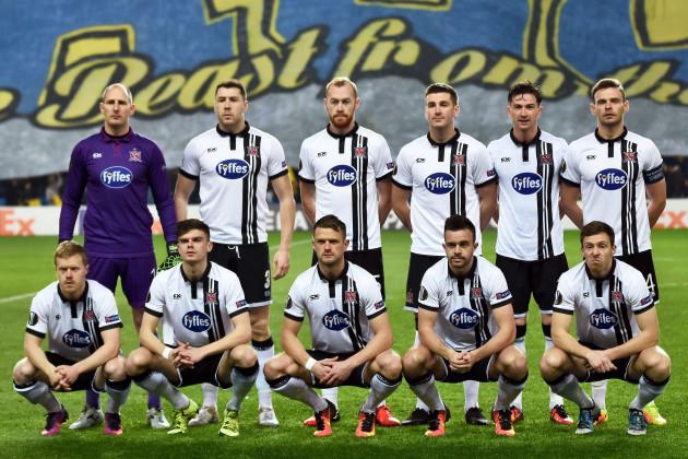 The Dundalk team