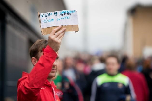 A Mayo fan in search of a ticket