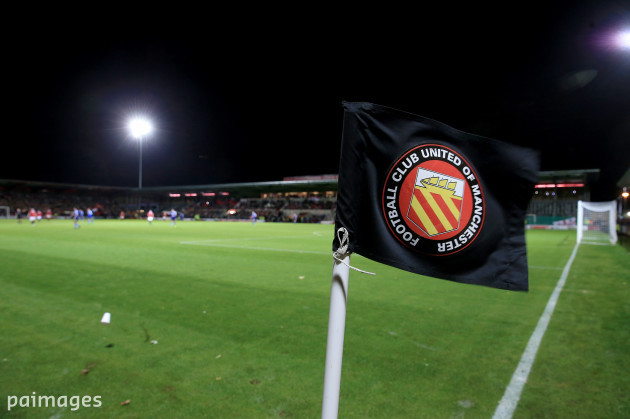 Soccer - Emirates FA Cup - First Round - FC United of Manchester v Chesterfield - Broadhurst Park