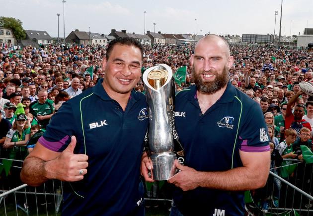 Pat Lam and John Muldoon