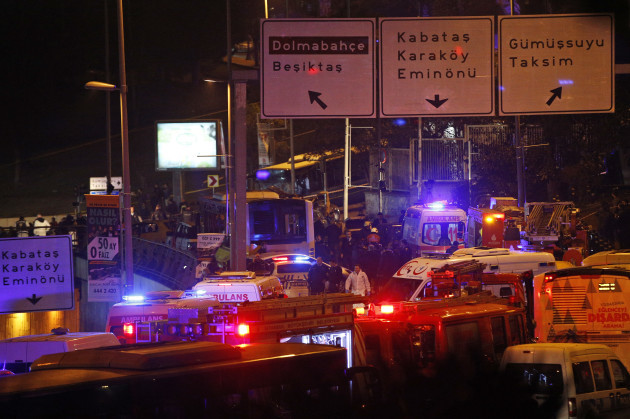 Turkey Explosions