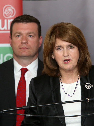 10/5/2016. Joan Burton Resigns