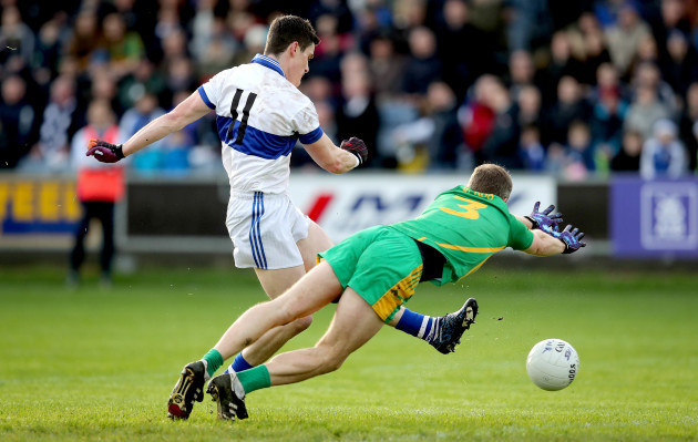 Diarmuid Connolly scores the first goal