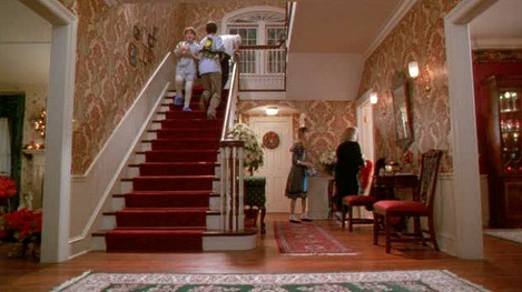 Home-Alone-movie-house-entry-hall-staircase