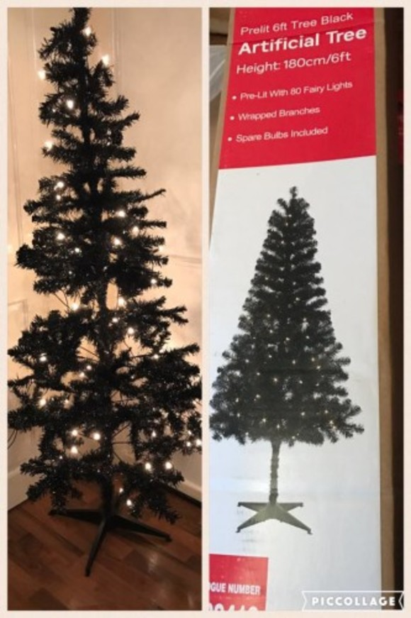 pretty nice 8b4a5 6d3ae This woman's hilariously rubbish 'Christmas tree' from Argos ...