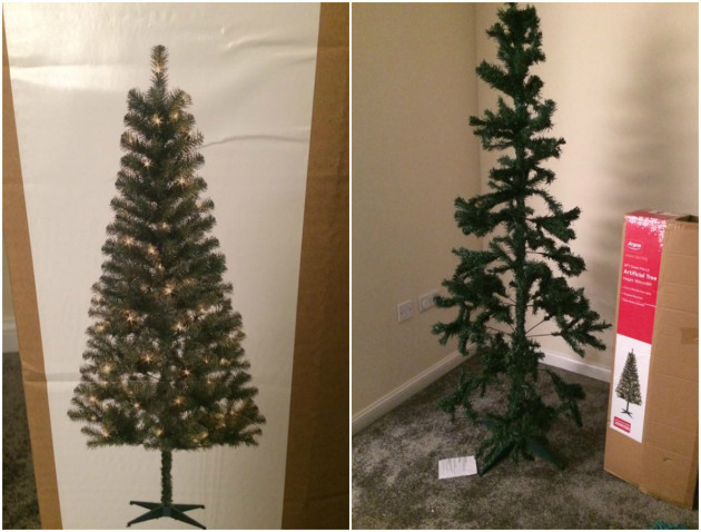 craptree - This Woman's Hilariously Rubbish 'Christmas Tree' From Argos Is