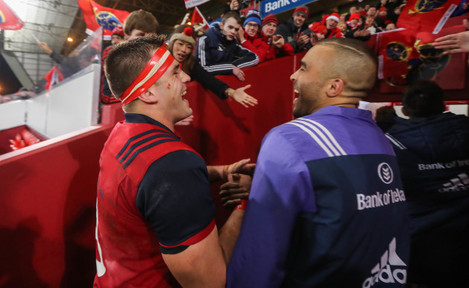 CJ Stander and Simon Zebo