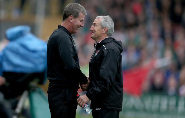 John Caulfield and Stephen Kenny